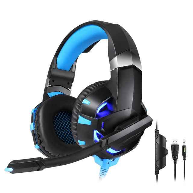 K2A Gaming Headset with Cool Led Light